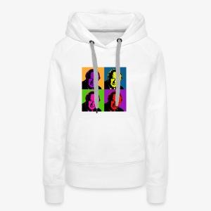 Bruno Kreisky - Pop Art - Frauen Premium Hoodie