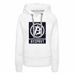BTCPRVT Digital Camo Merchandise - Women's Premium Hoodie