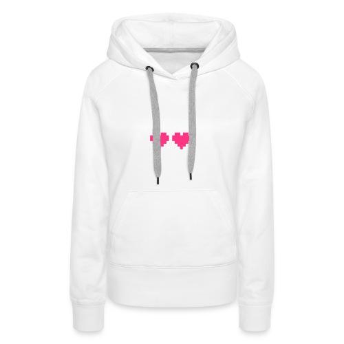 Skull Love - Vrouwen Premium hoodie