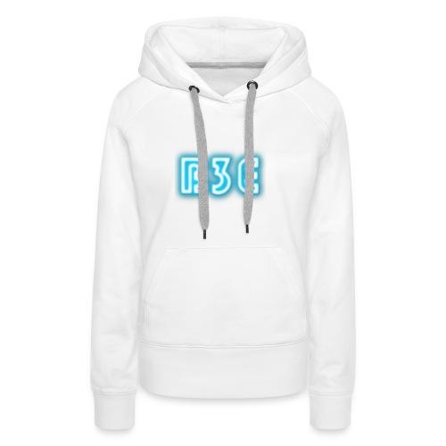 B3E: Logo - Neon - Women's Premium Hoodie