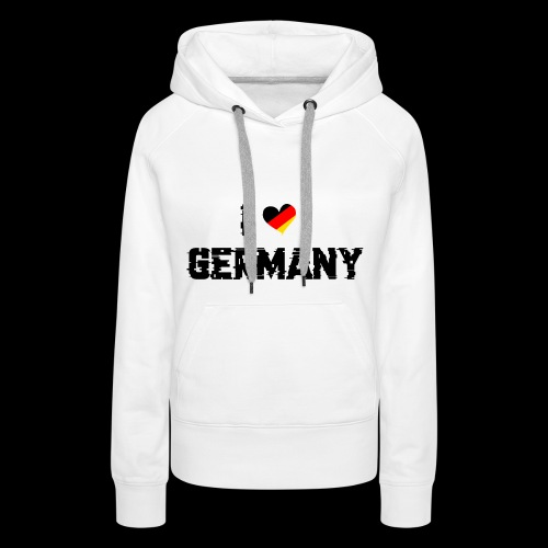 I Love Germany - Frauen Premium Hoodie