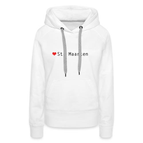 st maarten - Vrouwen Premium hoodie
