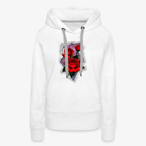 Flowers Geo - Women's Premium Hoodie