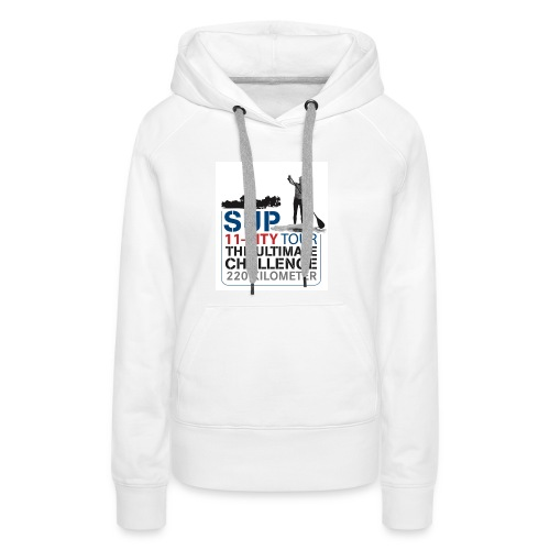SUP11 City Tour Logo Shirt - Women's Premium Hoodie