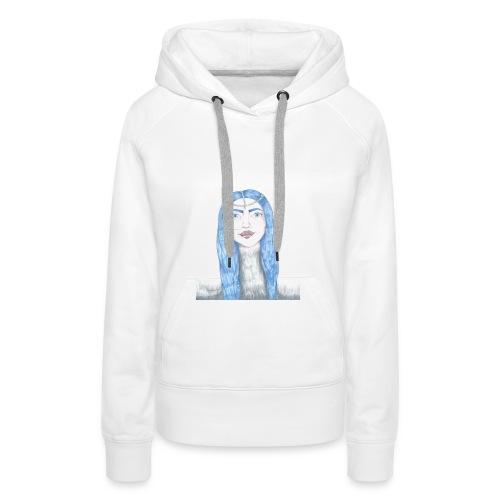 Blue girl - Premiumluvtröja dam