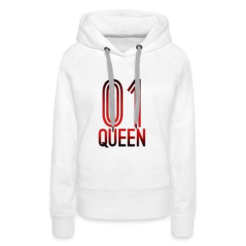 Queen Hoodie - Frauen Premium Hoodie
