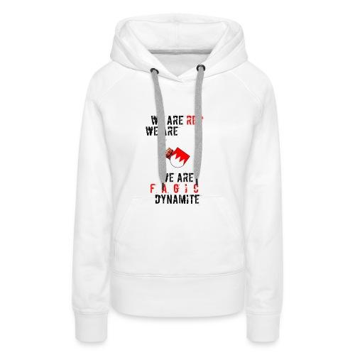 fr--nggisch_dynamite - Frauen Premium Hoodie