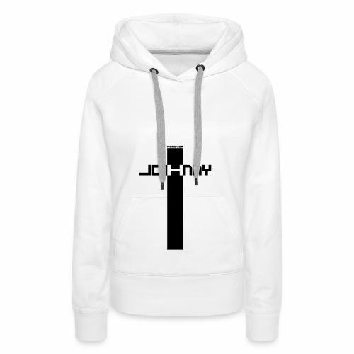 JOHNNY FOREVER H - Sweat-shirt à capuche Premium pour femmes