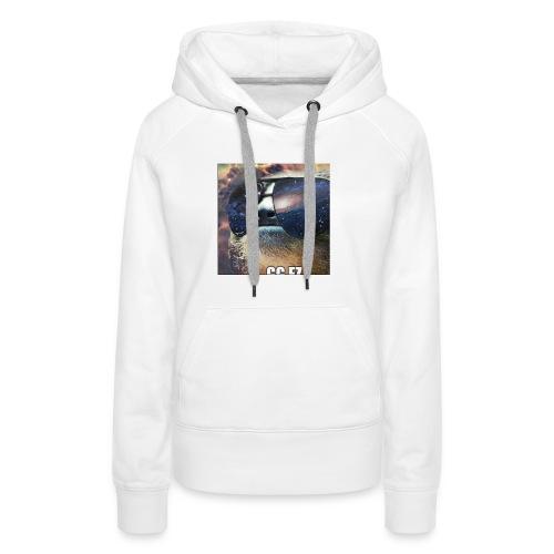 in space WOW - Vrouwen Premium hoodie