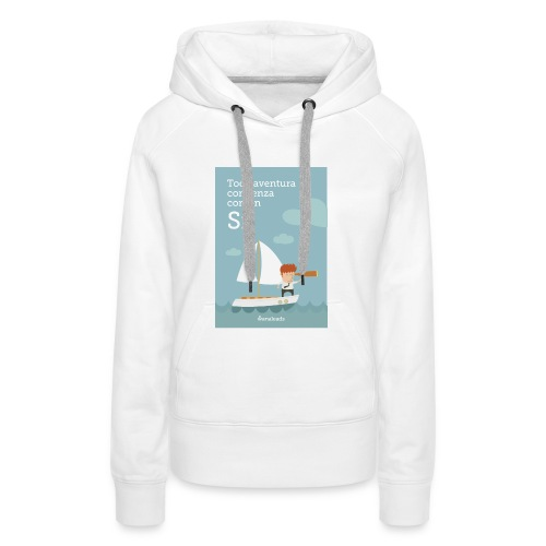 Camiseta Toda Aventura de Wanaleads - Sudadera con capucha premium para mujer