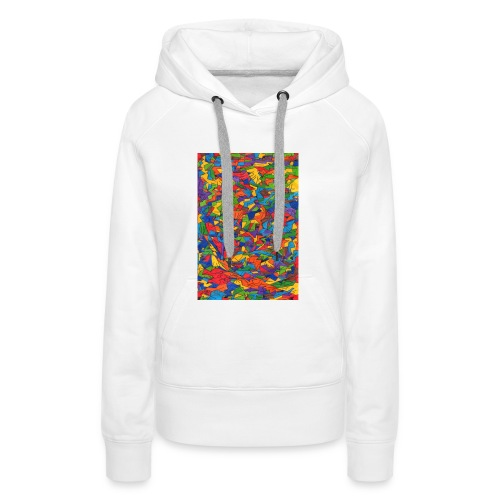 Color_Style - Sudadera con capucha premium para mujer