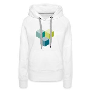 Cube - Frauen Premium Hoodie