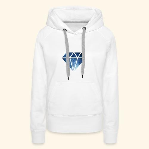Galaxie Diamant - Frauen Premium Hoodie