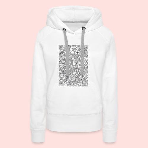 Mandela hoesje - Vrouwen Premium hoodie