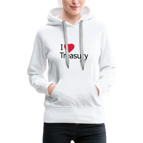 I LOVE TREASURY - Women's Premium Hoodie