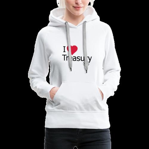 I LOVE TREASURY - Women's Premium Hoodie