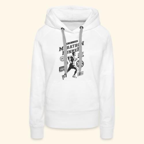 1989 MARATHON RUNNER Jogger Sport Geschenke Shirts - Frauen Premium Hoodie