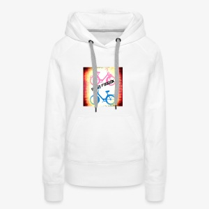 flash passion tee shirt - Sweat-shirt à capuche Premium pour femmes