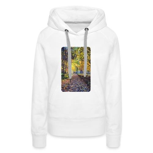 Autumn - Bluza damska Premium z kapturem