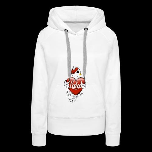 Bird - Sweat-shirt à capuche Premium pour femmes