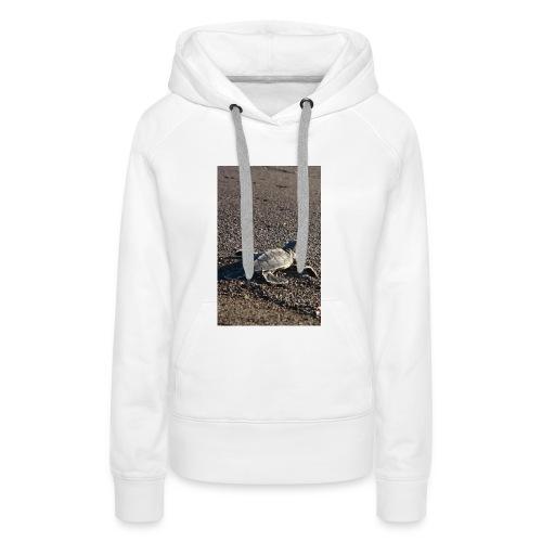 Turtle - Sweat-shirt à capuche Premium pour femmes