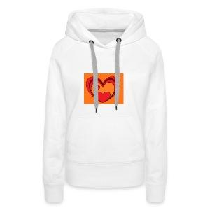 hart-png - Vrouwen Premium hoodie