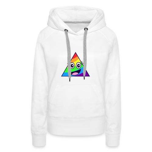 PRISM bear - Bluza damska Premium z kapturem