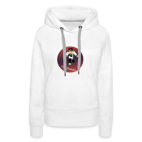 Hoodie met TwoGames logo - Vrouwen Premium hoodie