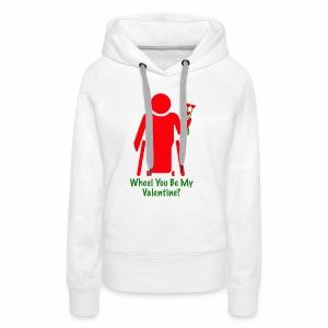 VALENTINE1 - Vrouwen Premium hoodie