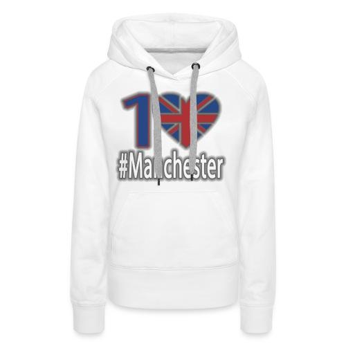 One Love Manchester - Women's Premium Hoodie
