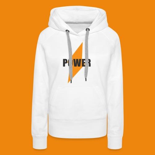 POWER - Frauen Premium Hoodie