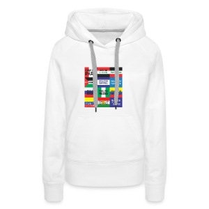 Pray for the World - Vrouwen Premium hoodie