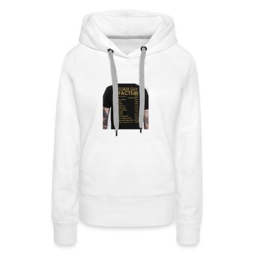 october gyu facts - Women's Premium Hoodie