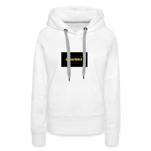 superMAX - Frauen Premium Hoodie
