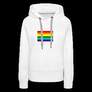Gay pride rainbow vlag - Vrouwen Premium hoodie