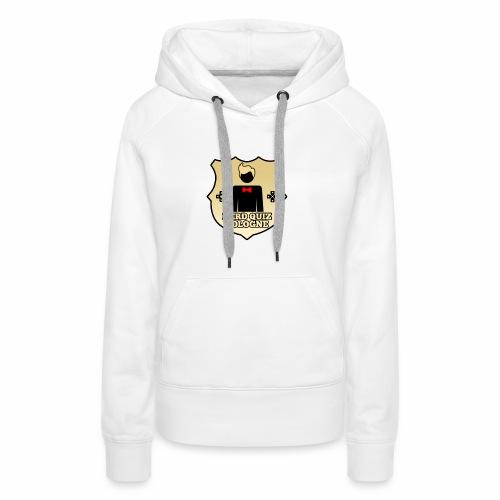 Nerd Quiz Logo - Frauen Premium Hoodie
