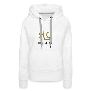 you love sneaker - Frauen Premium Hoodie