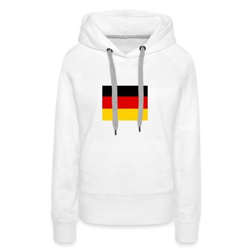 Deutschlandflagge - Frauen Premium Hoodie