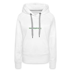 moetjustnix - Vrouwen Premium hoodie