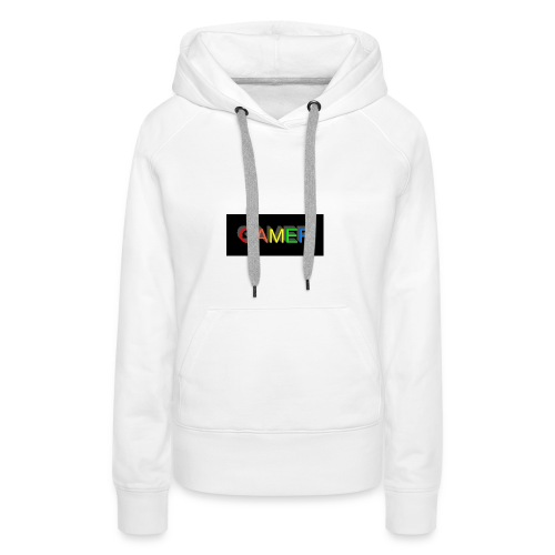 gamer shirt logo - Women's Premium Hoodie