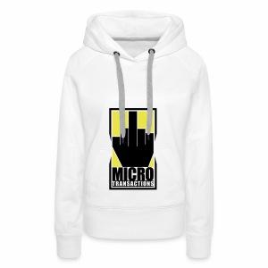 Micro Transactions - Women's Premium Hoodie