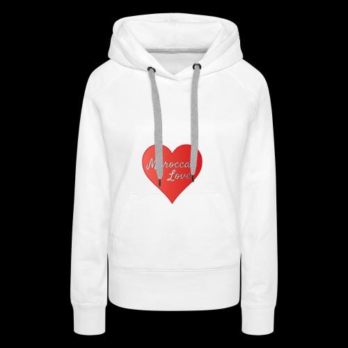 Maroccan_Love_LifeStyle Logo - Frauen Premium Hoodie