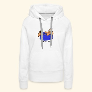 Bernie in the pool - Women's Premium Hoodie