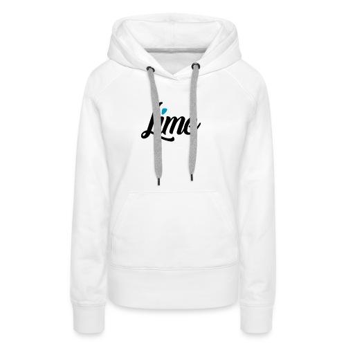 0 3 0 logo font black - Frauen Premium Hoodie