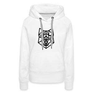 vos simpel groot - Vrouwen Premium hoodie