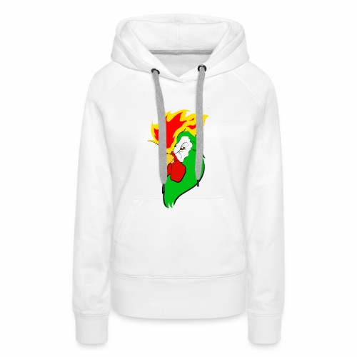 COCKTAIL ON FIRE - Sudadera con capucha premium para mujer