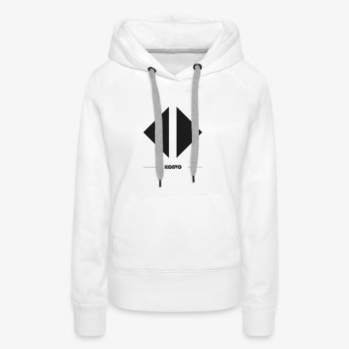 Konvo Brand - Sweat-shirt à capuche Premium pour femmes