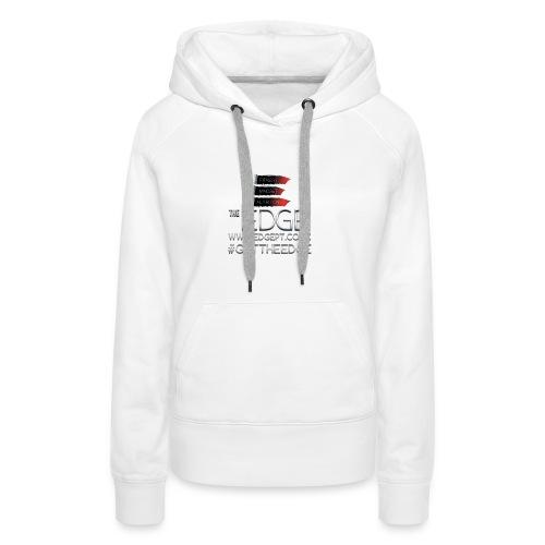 The Edge Logo - Women's Premium Hoodie