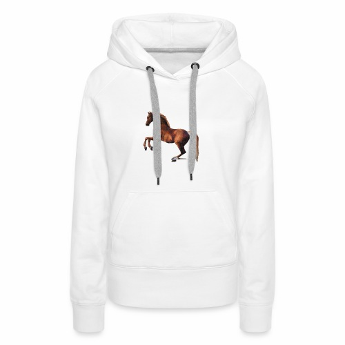 Pferd gemalt - Frauen Premium Hoodie