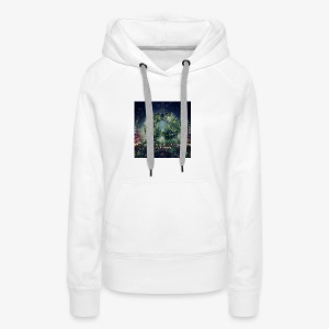 VA Breathing Earth cover front - Women's Premium Hoodie